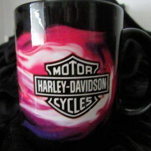 Harley-Davidson Pink Flames Mug NWOT